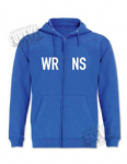 Single colour hoody - zippered WRNS